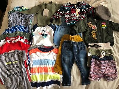 Next Zara River Island baby boy clothes job lot 3-9 months