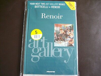 DeAgostini Art Gallery Artists Book Collection # 5 RENOIR & BOTTICELLI