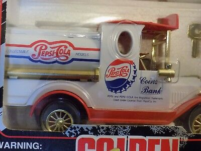 Golden Classics Die Cast Pepsi Cola Special Edition Coin Bank
