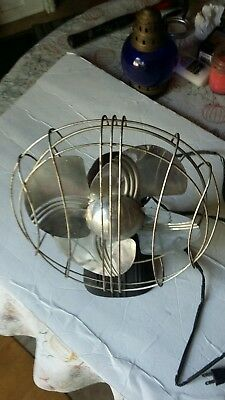 Vintage Art Deco Electric Fan made by Made-Rite