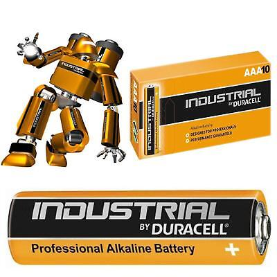 100 Duracell Procell Industrial Aaa Alkaline Batteries Lr03, Mn2400 Exp.2022