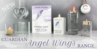*Guardian Angel Wings* Personalised Card & Gifts - In Loving Memory, Remembrance