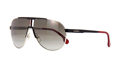 c161f66d1bc Carrera 1005 S 2M2HA Sunglasses Black Gold Red Frame Brown Gradient Lenses  66mm