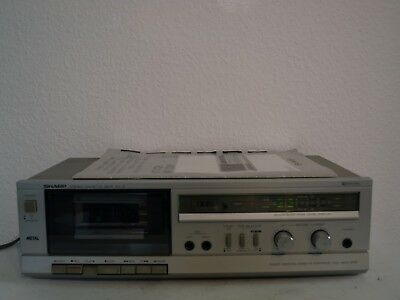 SHARP Stereo Cassetten Deck RT-12H Vintage