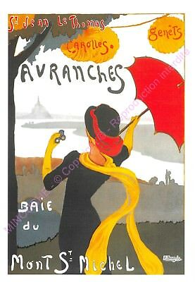 CP AFFICHE REPRODUCTION AVRANCHES Edt CARTEXPO 10870