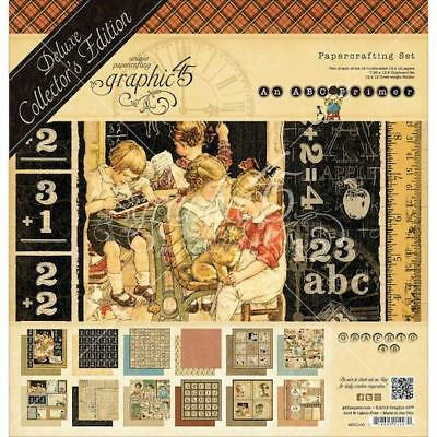 Graphic 45 Deluxe Collector's Edition 12x12 Papers Pack