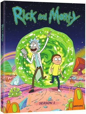 Rick and Morty: The Complete First Season DVD Super Fast Shipping
