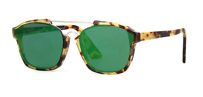 Christian Dior Abstract 00F 9S Sunglasses Spotted Havana Frame Green Lenses  58mm f1ead003a99d