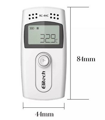 Elitech RC-4HC 16000 Points  Mini Temperature and Humidity Data Logger