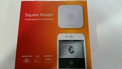 SQUARE Contactless (wireless) Chip and Magstrip Reader (white)