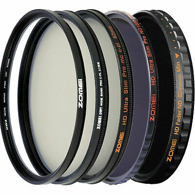 Zomei Pro Camera Lens Filter UV Filter CPL Filter ND Filter HD Filter for Camera