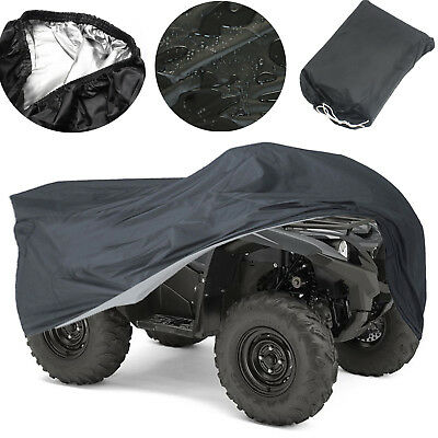 XL Waterproof Quad ATV Cover Fits Yamaha Grizzly 700 550 660 FI Auto 450 400 350