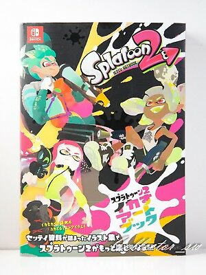 3 - 7 Days | Splatoon 2 Ikasu Art Book from JP