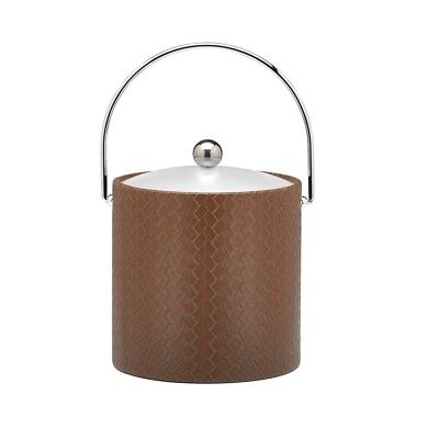 San Remo Pinecone 3 Qt. Ice Bucket with Bale Handle, Lucite Lid