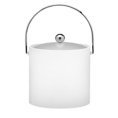 3 Qt. Insulated Ice Bucket in White