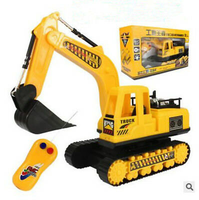 Wireless Electric remote control excavator toy car Engineering rc Car Children