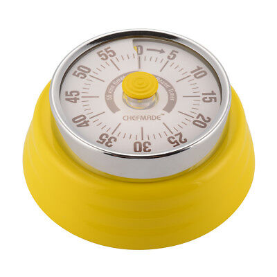 Easy Read Kitchen Timer Magnet Fridge Mechanical Cooking Food Reminder HS1130