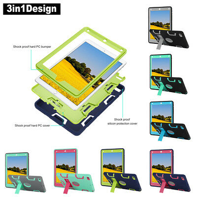 Kids Safe Armor Shockproof Heavy Duty Case Cover For iPad 9.7inch 6th Gen 2018