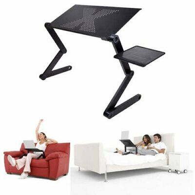 360° Adjustable Folding Laptop Table Lap Desk Bed Portable Computer Tray  Stand M