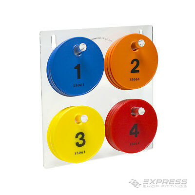 New Large Fitting Room Color Disc Set For Retail Shop Centre