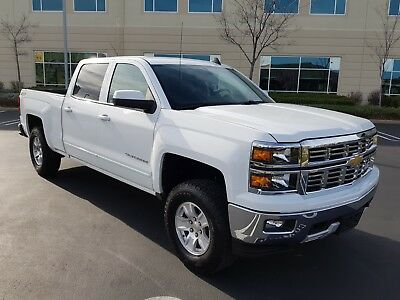 2015 Chevrolet Silverado 1500 LT Z71 4x4 Crew Cab Pickup 4-Door 2015 CHEVROLET SILVERADO 1500 LT Z71 4x4 CREW CAB LONG BED, ONLY 24K MI, LOOK!