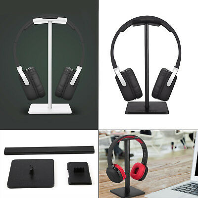 UK Universal Aluminum Earphone Headset Holder Hanger Headphone Display Stand 90g