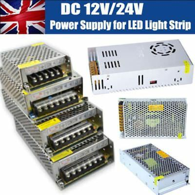 DC12V 24V Universal Regulated Switching Power Supply LED 3D Printer CCTV New