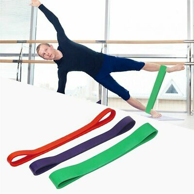 Resistance Exercise Loop Bands Natural Latex Home Yoga Pilates Glute Gym Fitness
