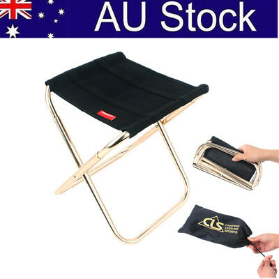 AU! Outdoor Fishing Camping Picnic Seat Portable Lightweight Folding Chair Stool