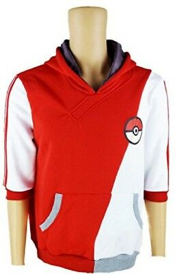 Pokemon GO Cosplay Parka Trainer (M, Red)/Free Shipping from Japan