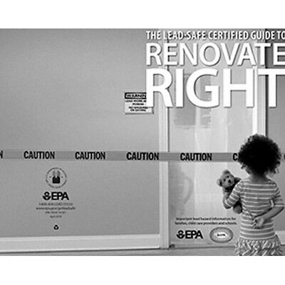 EPA Renovate Right Booklet (Carton of 20)
