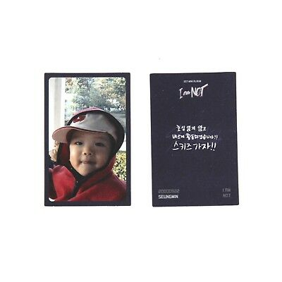 [STRAY KIDS] I Am Not Album Official Photocard/Childhood ver. - SEUNGMIN