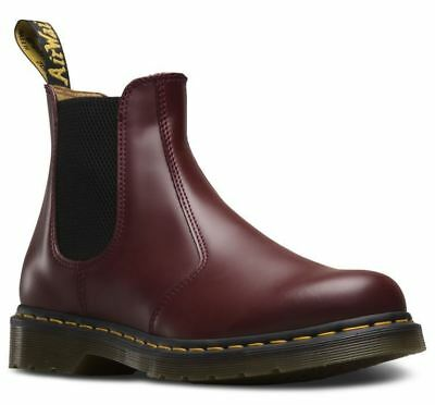 Dr Martens 2976 22227600 cherry red yellow stitched chelsea dealer boot sz 6 f79638323afd