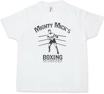 MIGHTY MICK'S BOXING II Kids Boys T-Shirt Tommy Gym Rocky Haven Adrian Robert