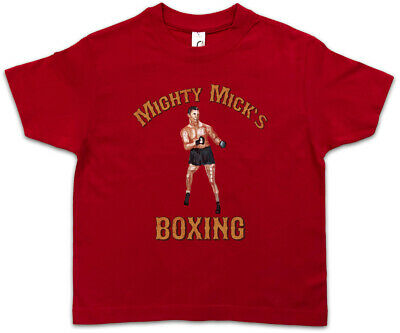 MIGHTY MICK'S BOXING I Kids Boys T-Shirt Sylvester Tommy Gym Rocky Haven Adrian