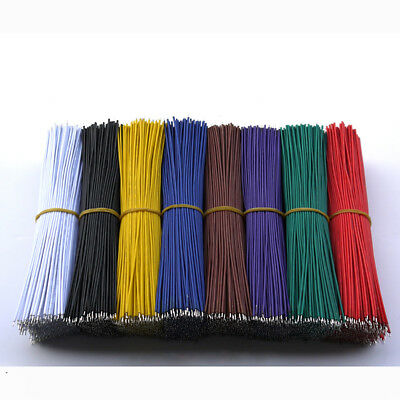 60pcs Wire Jumper Welding Cable Connect Electronic Double Tinned 24AWG 50/150mm