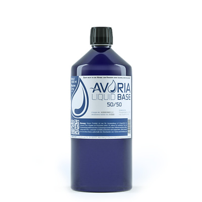 Avoria 50/ 50 Base 0mg Nikotin, 500-1000ml