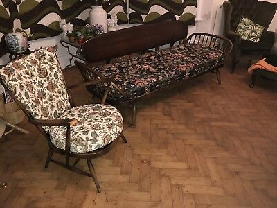 ercol studio couch day bed and chair