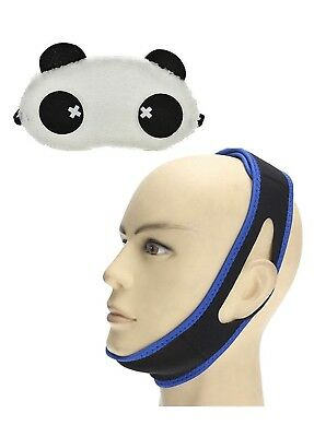 Shush Anti Snore Chin Strap Neoprene Snore Stopper for Mouth Breathing