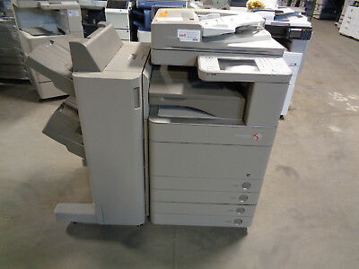 Canon ImageRunner Advance C5030 Color Copier w/ C1 Finisher Meter 148K -CT