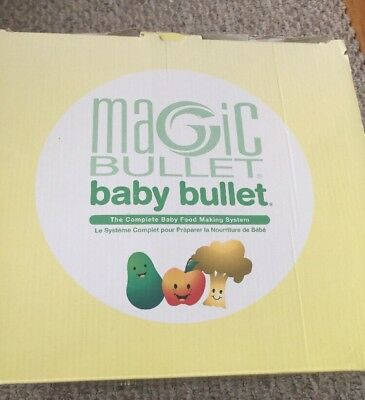 Magic Bullet Baby Bullet Brand New (Other) In Box
