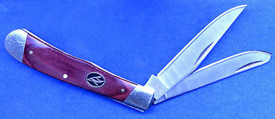 """RedHead® Rosewood Trapper Pocket Knife  Closed: 4- 1/8""""  Blades: Stainless steel"""