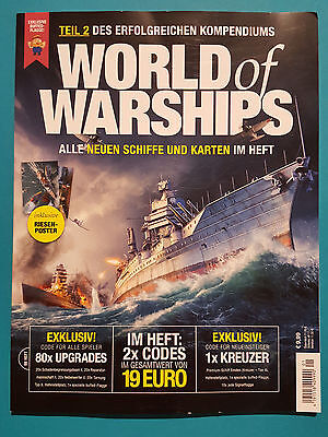 World of Warships 01/2017 Alle New Ships and Cards UNREAD 1A Absolute Top