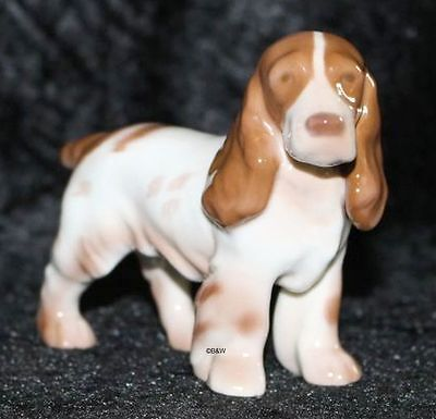 "Bing&Grondahl / Royal Copenhagen Figur #2172  ""Cocker Spaniel"" Top 1. Wahl"