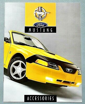 Original 1999 Ford Mustang Factory Accessories Brochure ~ 12 Pages ~ 99Fma