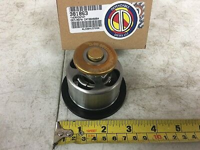 Vented Thermostat 190° for Caterpillar C15. PAI # 381863 Ref. # 2848264 284-8264