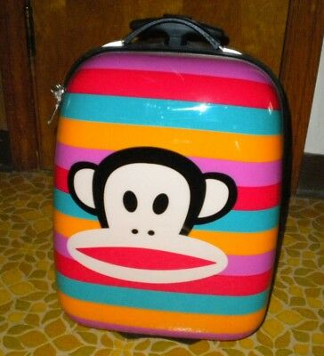 Paul Frank Multi-colored with Julius the Monkey Suitcase with Wheels