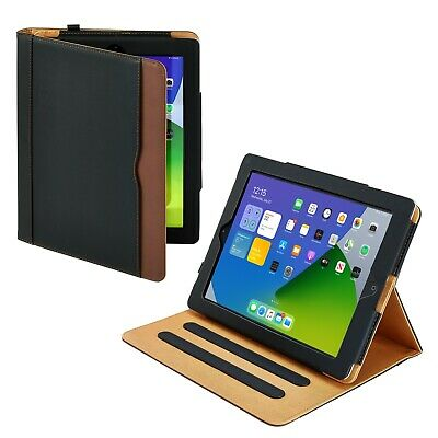 For Apple iPad 6th Gen 9.7 2018 Soft Leather Smart Cover Wallet Case Sleep Wake