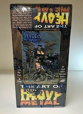 The Art of Heavy Metal - Sealed Trading Card Hobby Box - Comic Images 1995