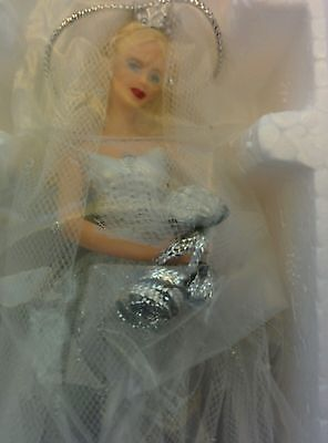 Barbie Millennium Bride Avon Porcelain Ornament 2000 NRFB